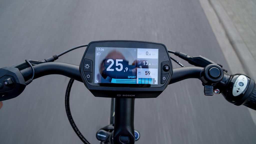 E-Bike-Tacho - Bild: Jürgen Bartalis