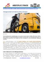 Abbiegeassistent für Lkw – Feldversuch
