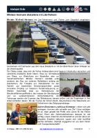 Im Dialog mit LKW-Fahrern