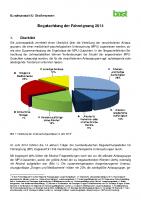 Fahreignung – Begutachtungen 2014 – BASt