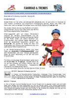 Fahrrad – Kinderfahrrad