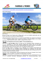 Fahrrad – Fahrradanhänger / Kindertransport