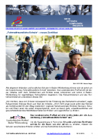 Fahrrad – Fahrradfreundliche Schule / Zertifikat