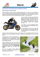 Lärm – Motorrad-Lärm / Spaß & Ärger