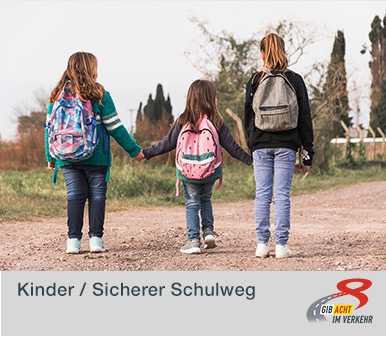 Kinder - sicherer Schulweg