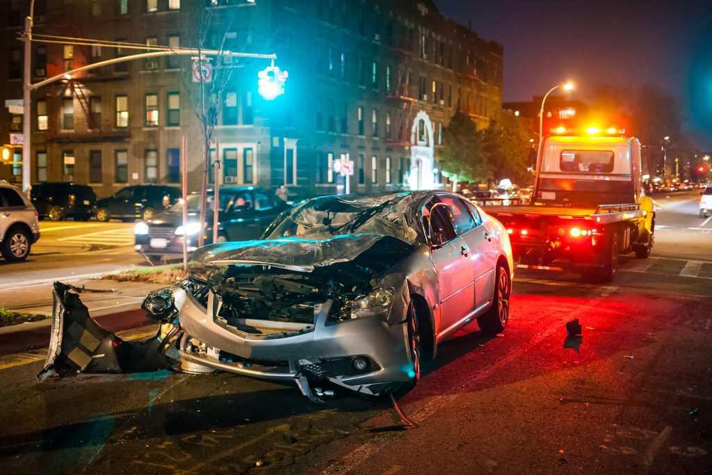 Verkehrsunfall - car crash