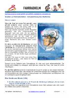 Studien Schutzwirkung Radhelme