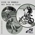 Füller - Kids on wheels - mit Helm na klar!