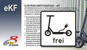 Infokarte Elektrokleinstfahrzeugeverordnung