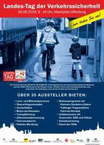 Plakat Landes-Tag der Verkehrssicherheit 2019