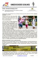"Aktion ""Sicherer Schulweg"" 2019"