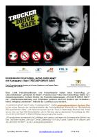 """Pressemitteilung """"Brummis im Blick"""""""