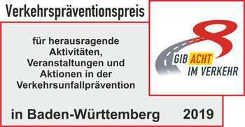 Verkehrspräventionspreis 2019
