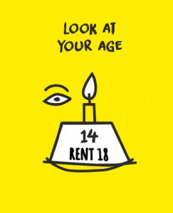 look at your age