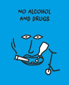 no alcohol and drugs
