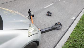 E-Scooter Verkehrsunfall